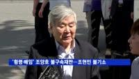 '횡령·배임' 조양호 불구속 재판…조현민은 무혐의