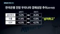 [TV대담] 3개월 만에 경제성장 전망 낮춘 한국은행